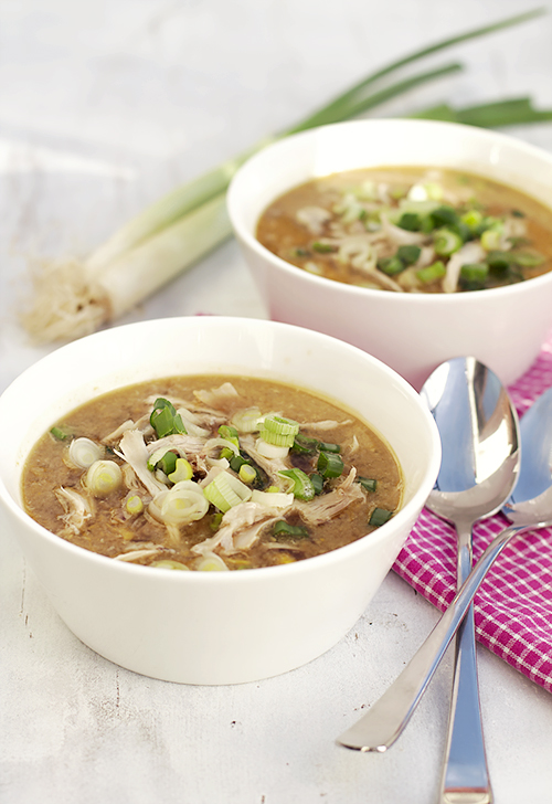 chińska zupa z kukurydzy i kurczaka
