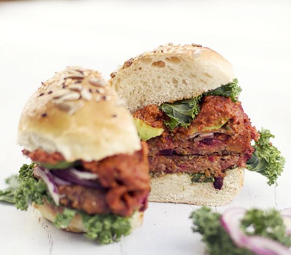 przepis burgery warzywne