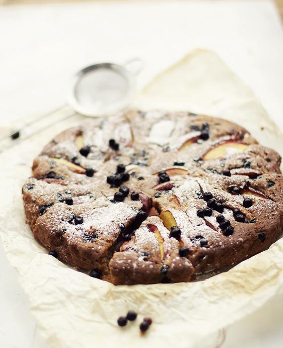 ciasto z nektarynkami