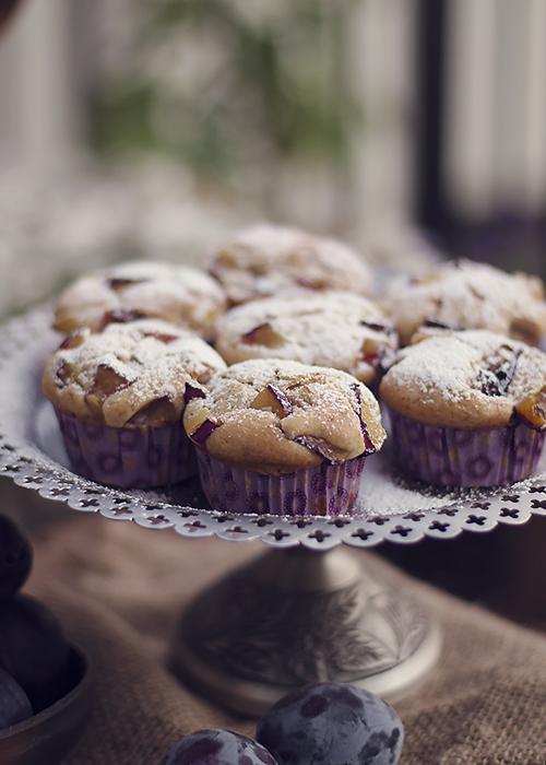 muffinki sliwkowe
