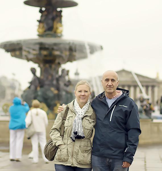 paryż fontanna