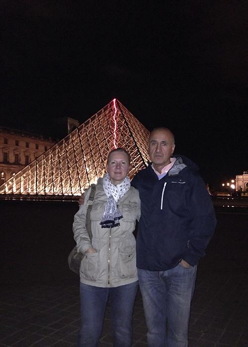 piramidy Paryż