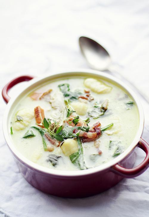 zupa z gnocchi i kurczakiem