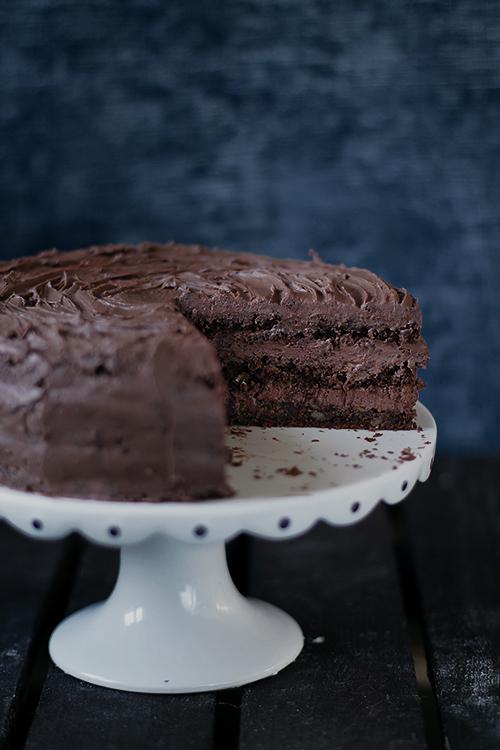 tort czekoladowy świąteczny