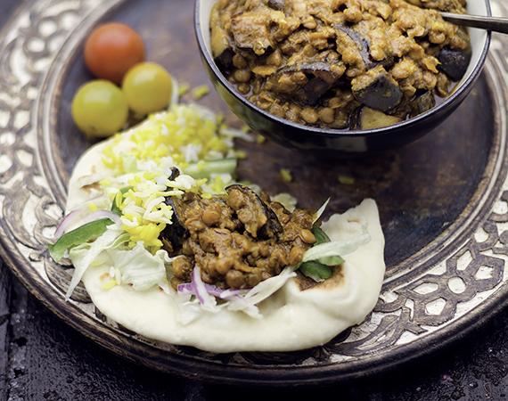 wegetariańskie curry dhal