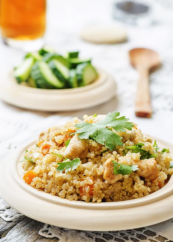 pilaf z quinoa
