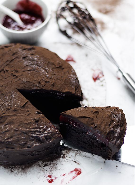 szybki tort czekoladowy
