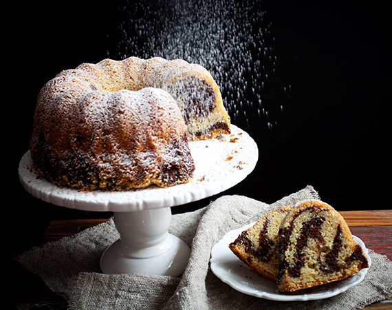przepis na ciasto babka marmurkowa