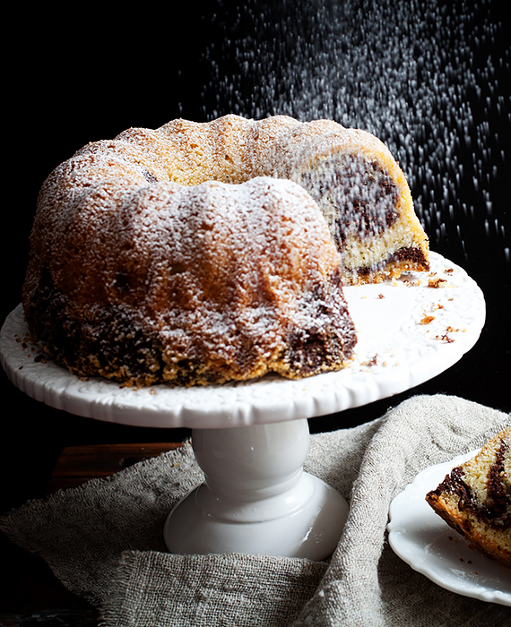 przepis na ciasto marmurkowe