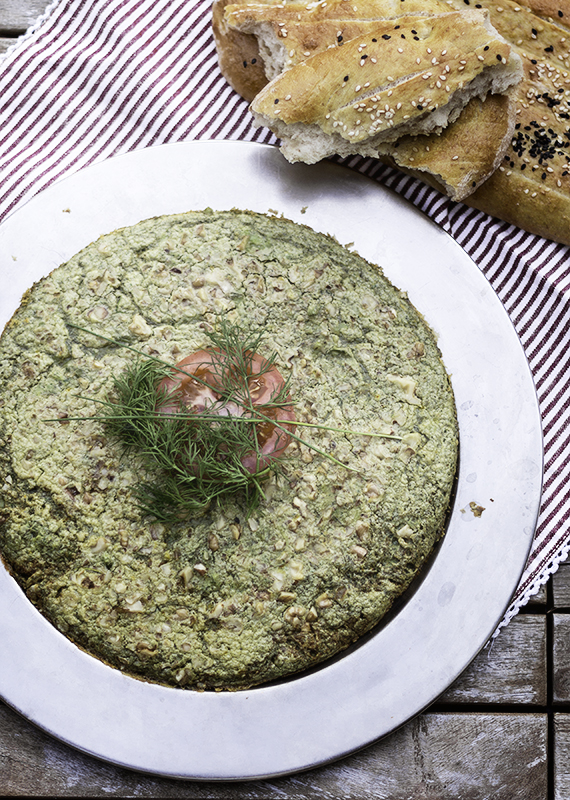 omlet z bobem