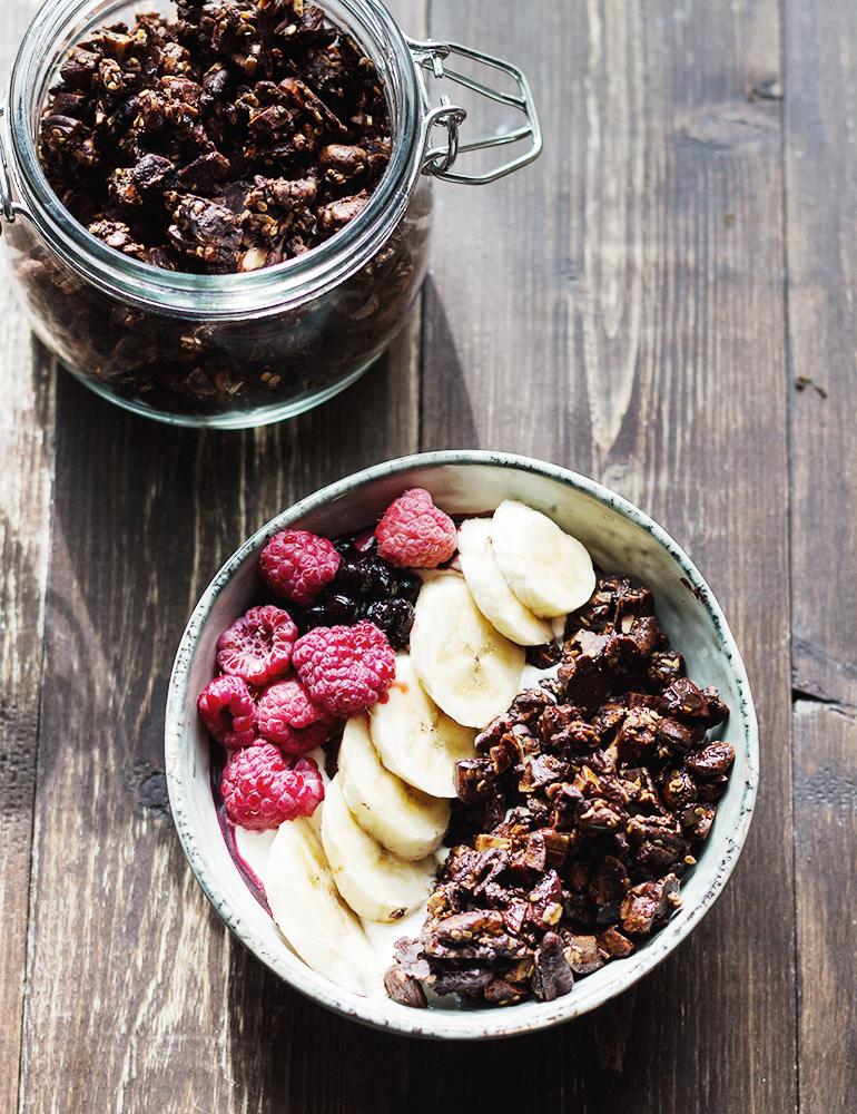 czekoladowa granola