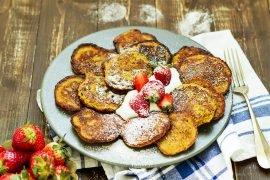 przepis placki plantanowe