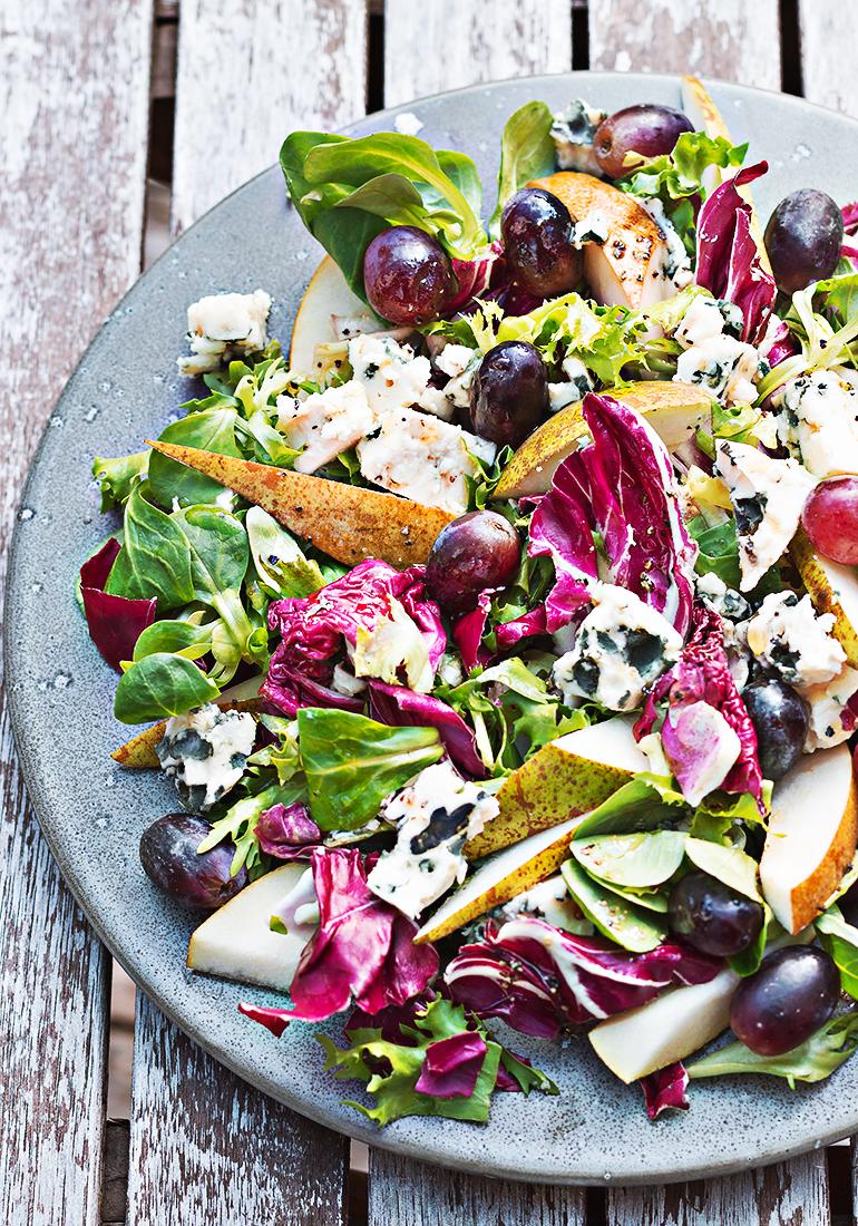 salatka z roquefort
