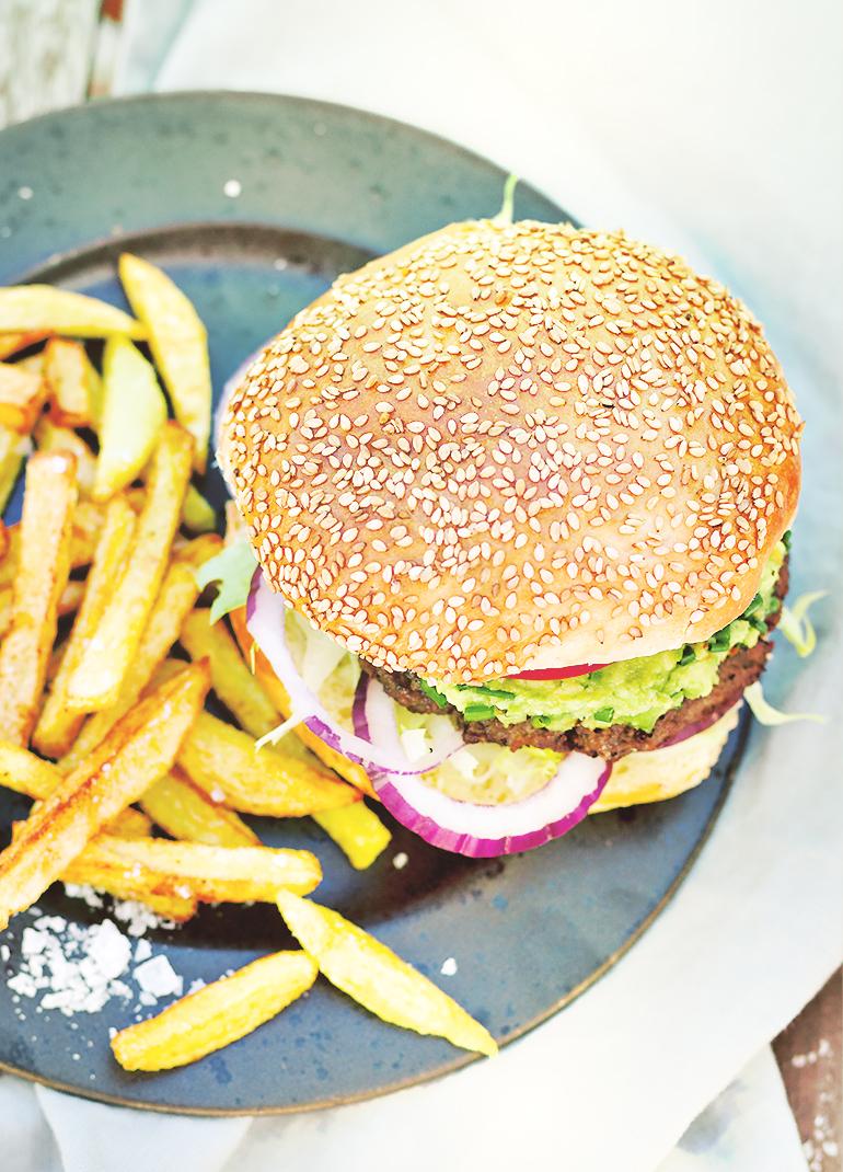 wołowe burgery przepis