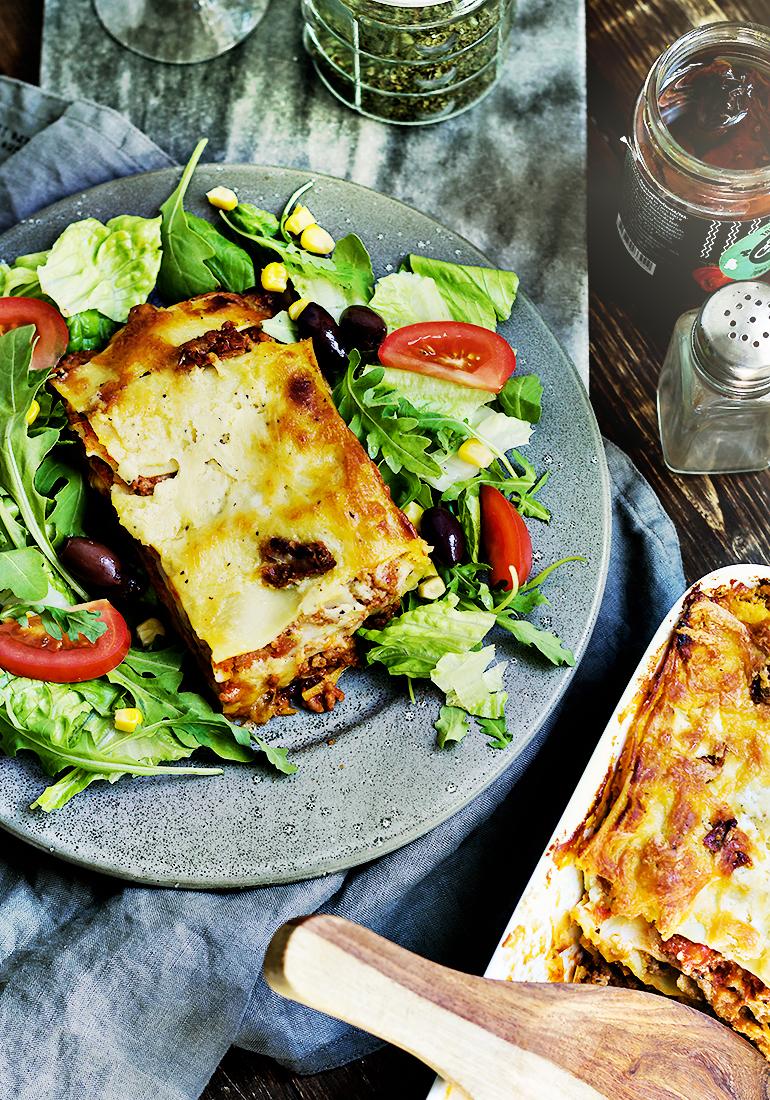 lasagne bez beszamelu