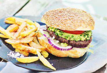 wołowe hamburgery