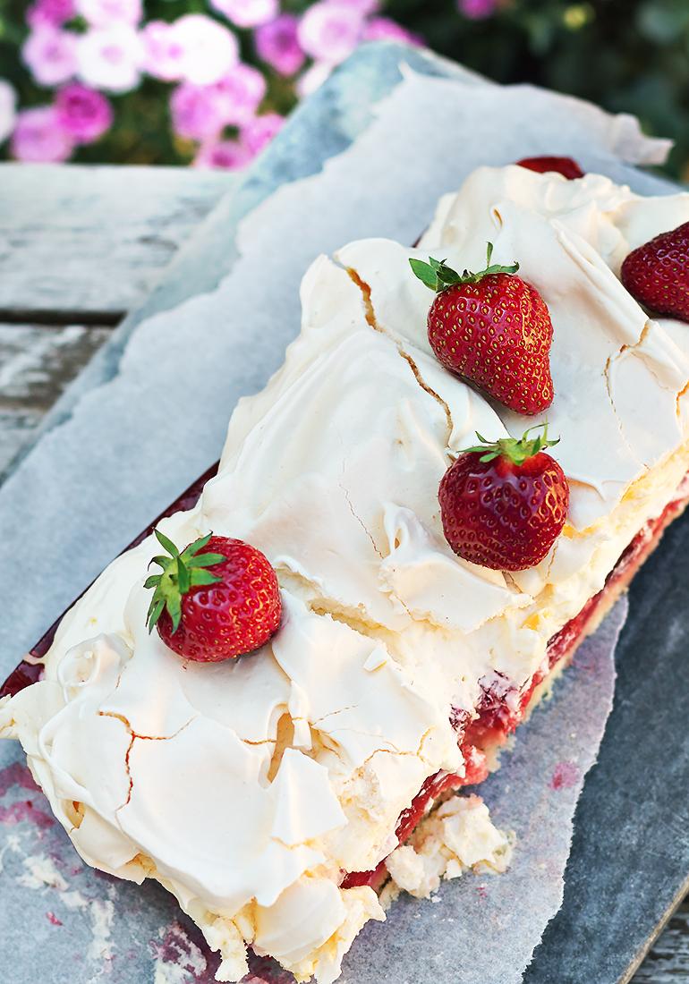 ciasto z galaretka