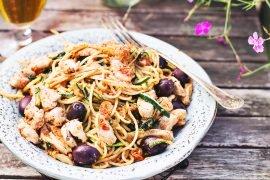przepis na spaghetti z romesco