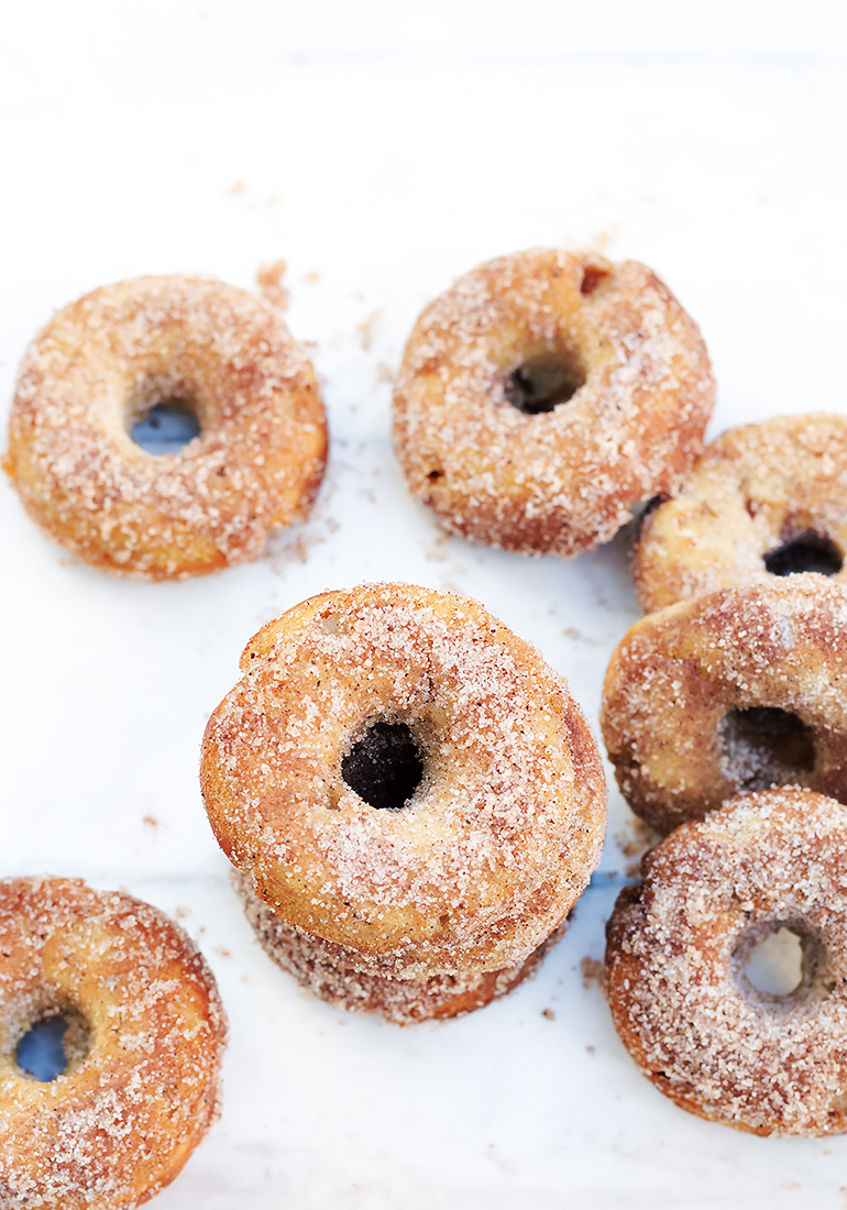 donuty z piekarnika