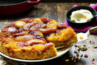 tarta brzoskwiniowa tarte tartin