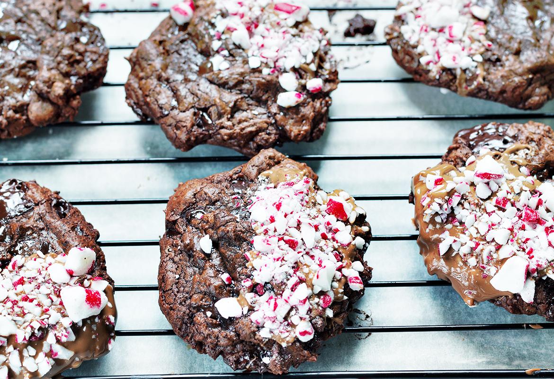 świąteczne ciastka czekoladowe_ przepis