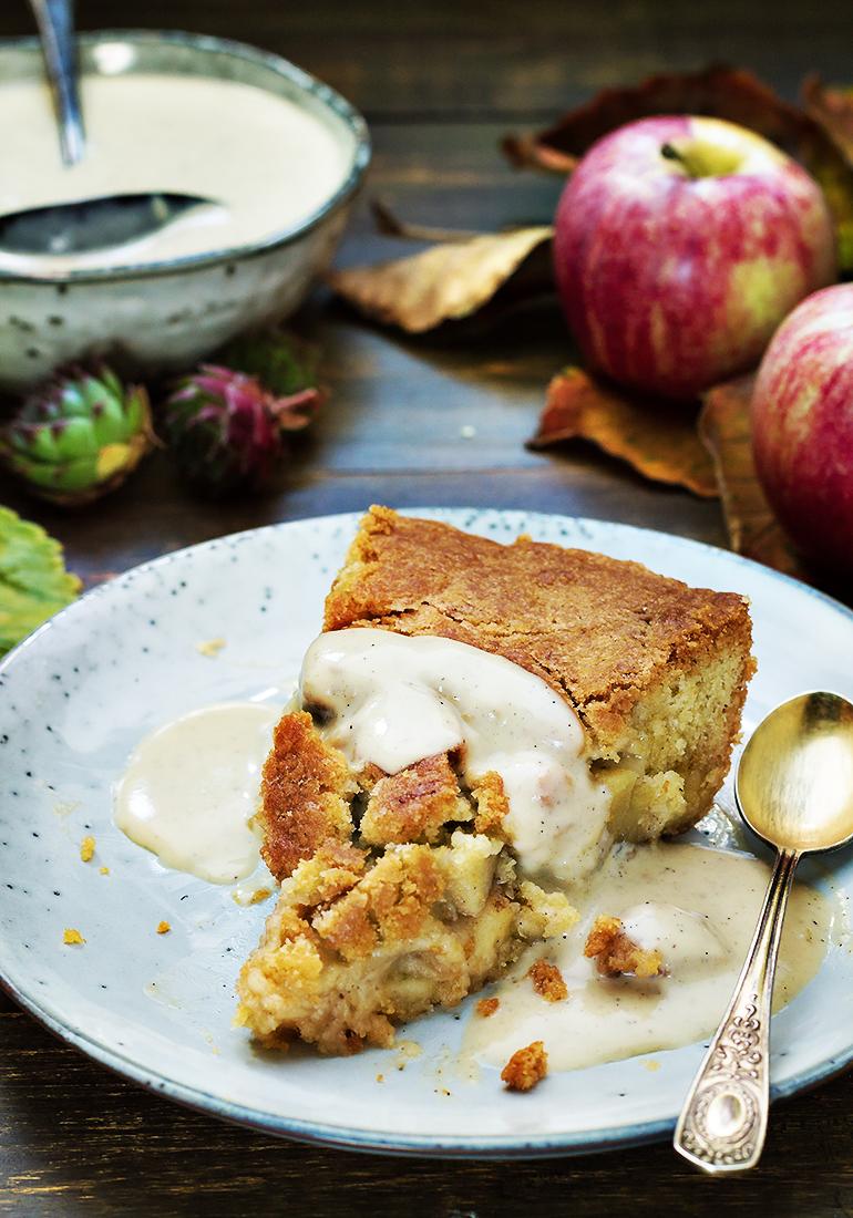 ciasto z jabłkami cobbler