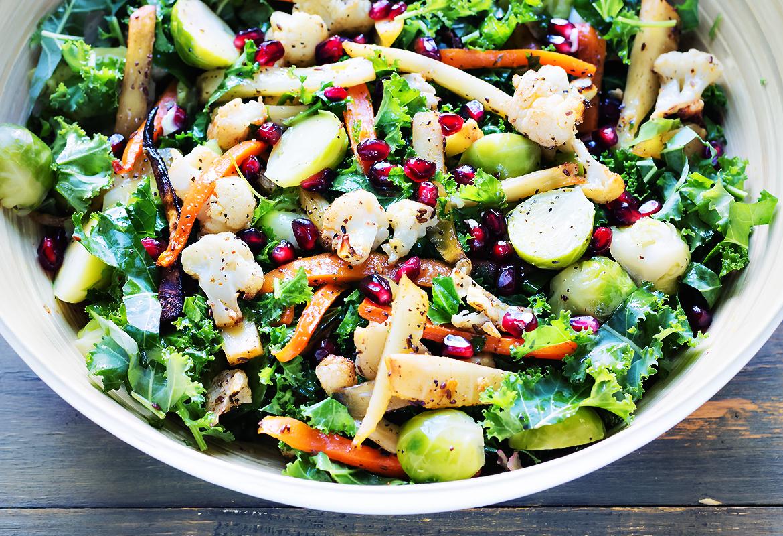 salatka pieczone warzywa
