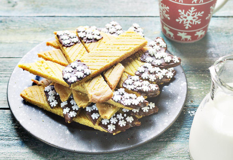 świąteczne ciastka szafranowe