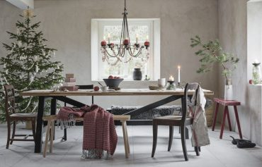 proste dekoracje na świąteczny stó