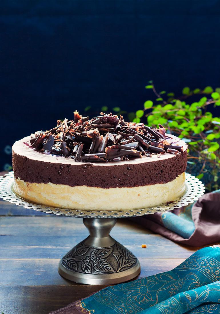 sernik czekoladowy mus