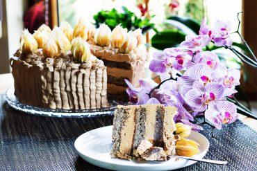 tort bananowy noworoczny