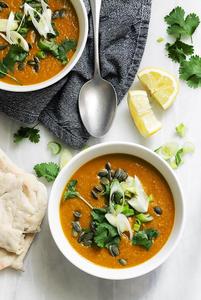 garam masala zupa krem