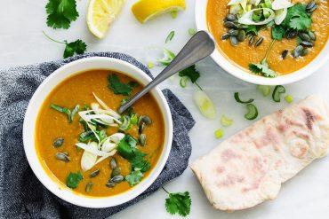 zupa dyniowa garam masala