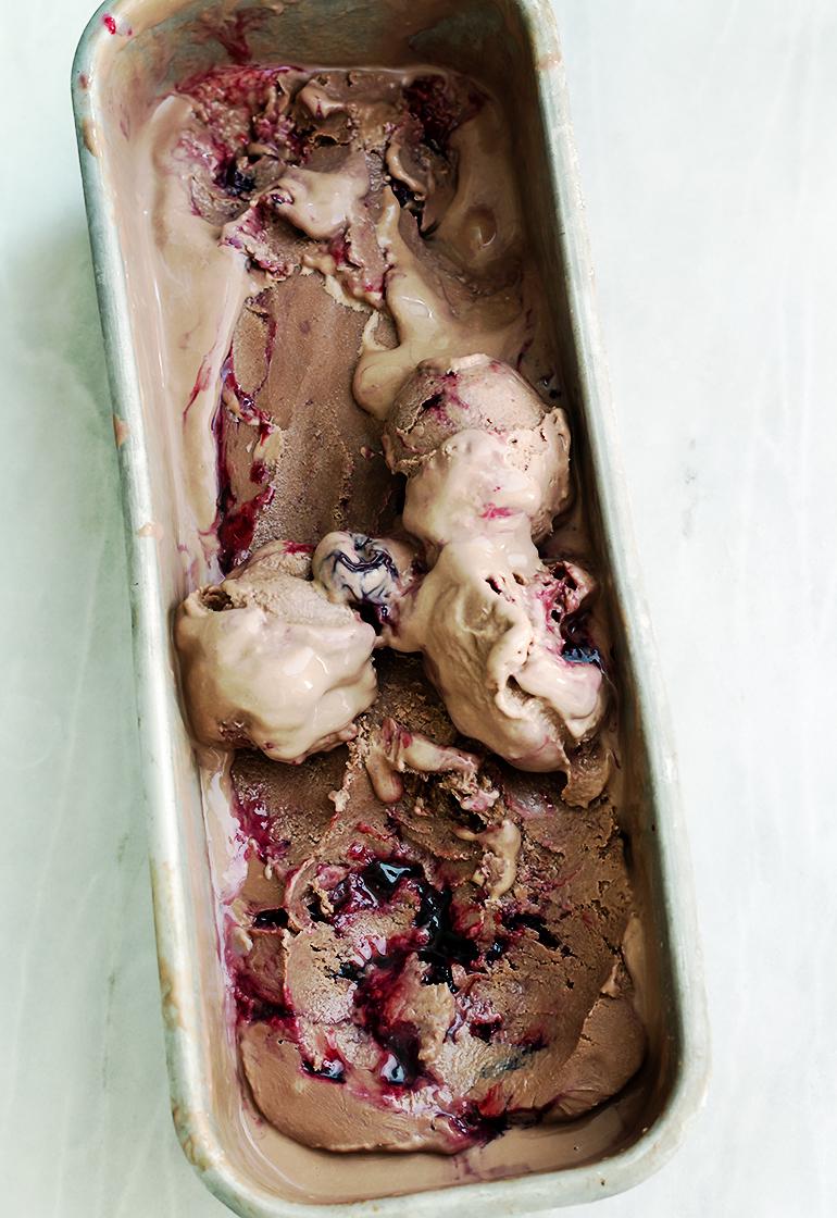czekoladowe lody