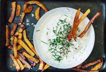 french onion dip smażona cebula