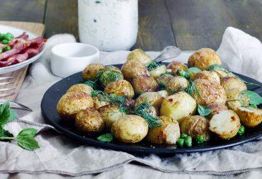 przepis na pieczone ziemniaki