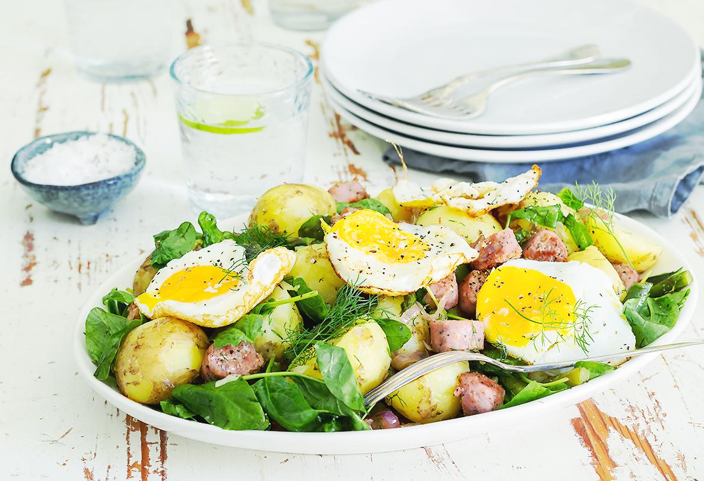 młode ziemniaki obiad