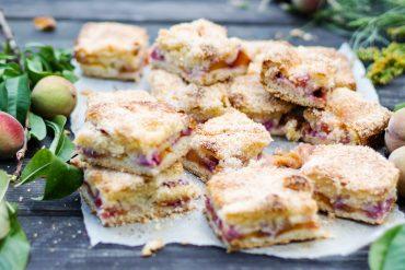 ciasto brzoskwinie przepis