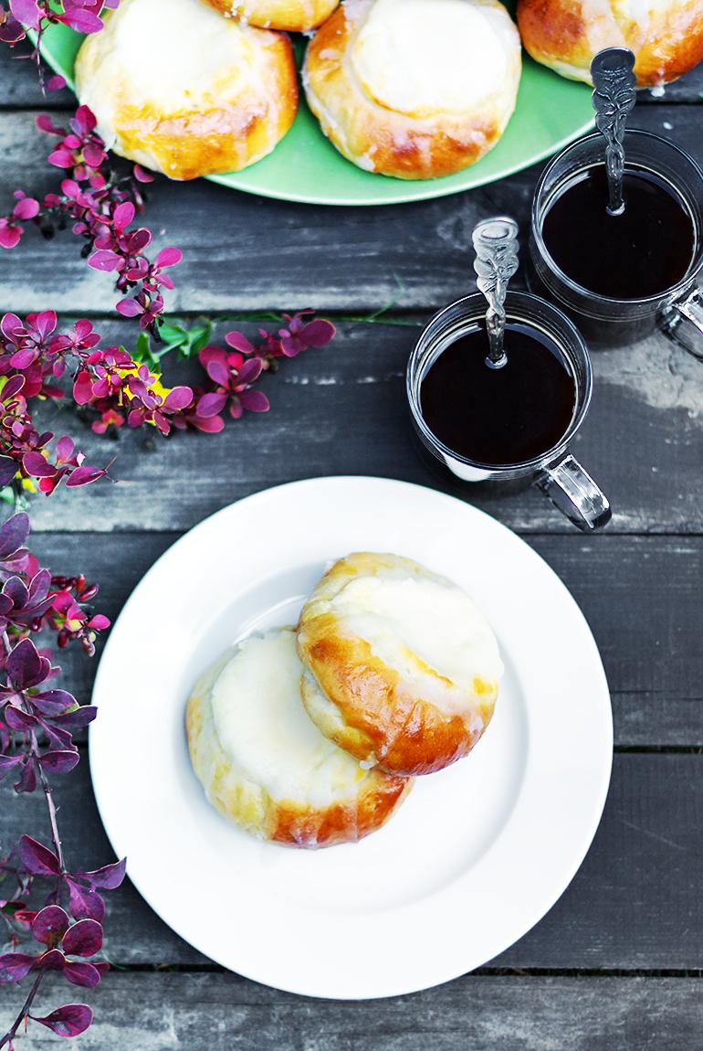 drożdżówki przepis z serem