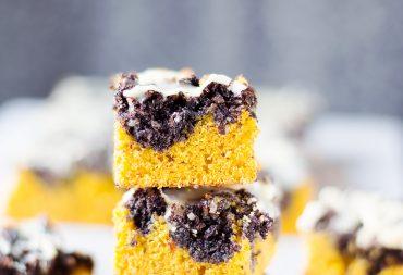 dyniowe ciasto z makiem blog kulinarny codojedzenia