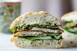 kanapka ze schabowym przepis