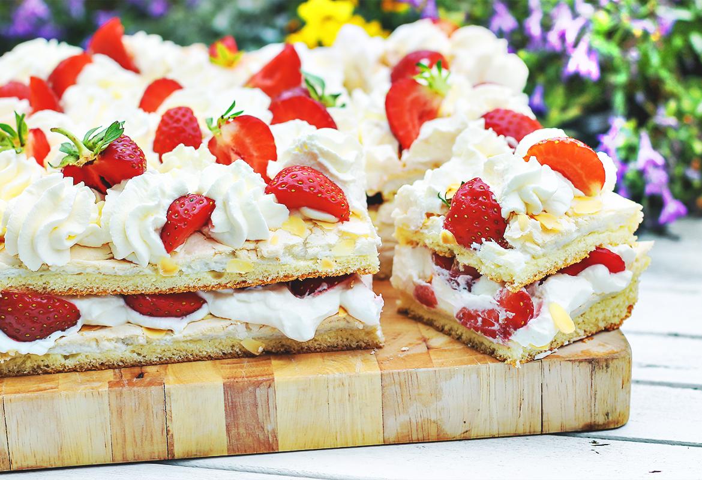 ciasto z truskawkami codojedzenia