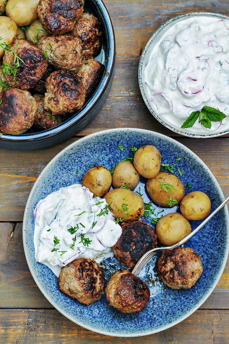 młode ziemniaki mielone tani obiad