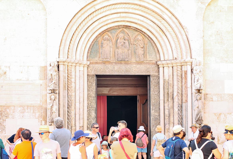 katedra św. Anastazji zadar codojedzenia