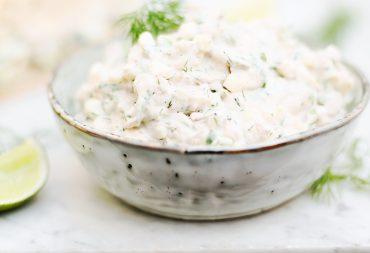 sałatka z tuńczyka przepis blog kulinarny