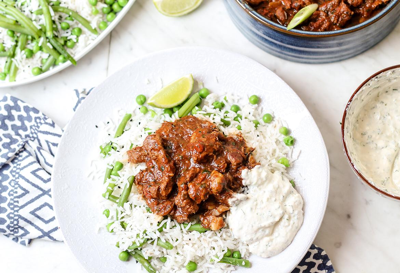 ostre curry z wołowiną przepis codojedzenia