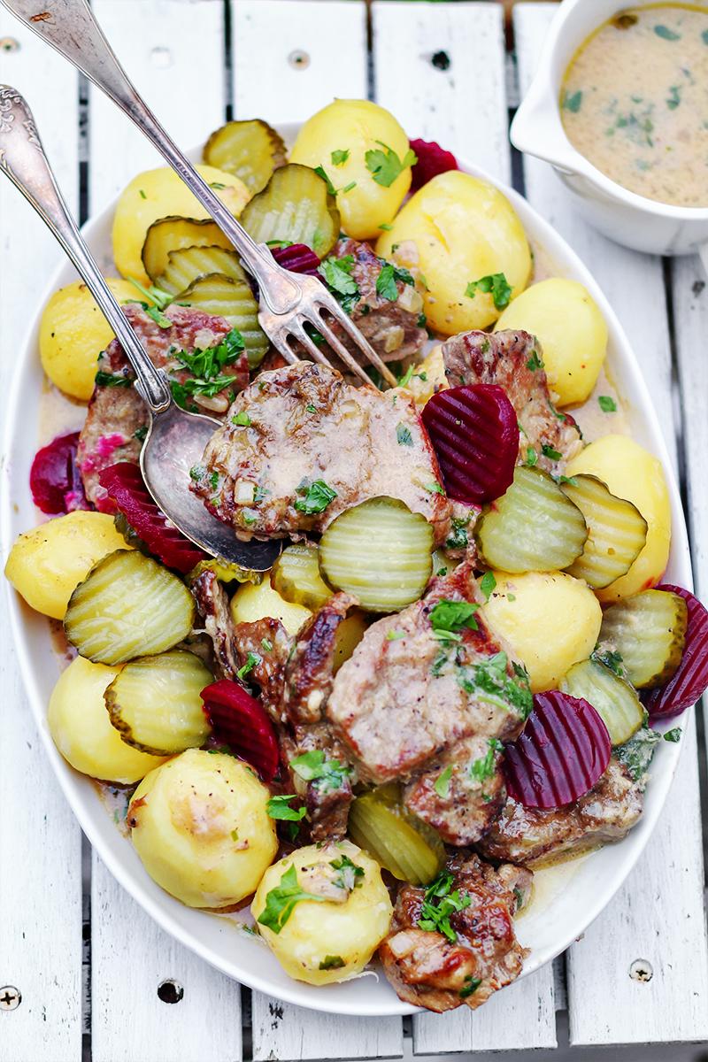 karkówka w sosie cebulowym blog kulinarny przepisy codojedzenia