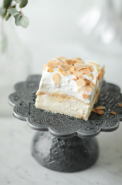 ciasto budyniowa krówka no bake przepis codojedzenia