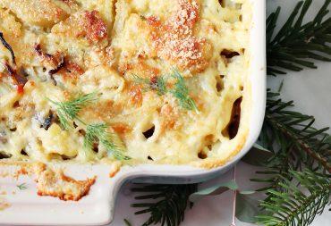 zapiekanka ziemniaki Przepis blog kulinarny codojedzenia