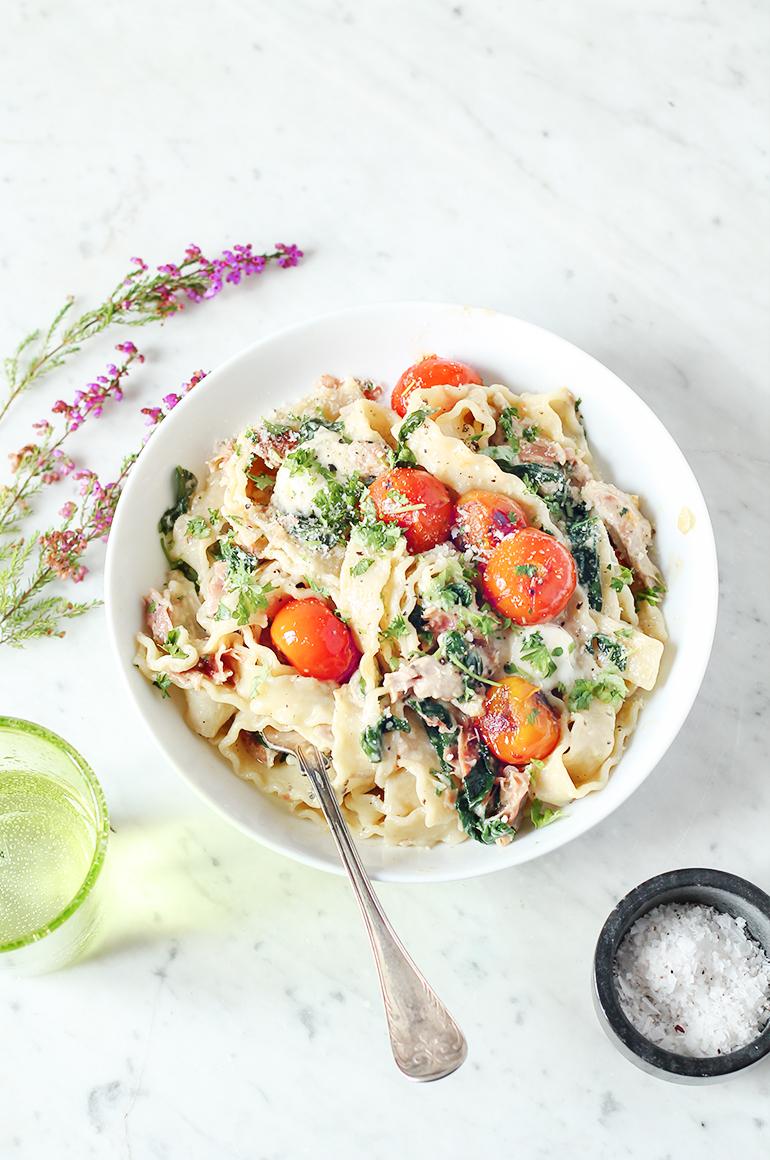 manfredine florentine kurczak prosciutto pomidory